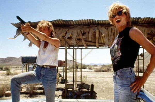 An image from Thelma and Louise