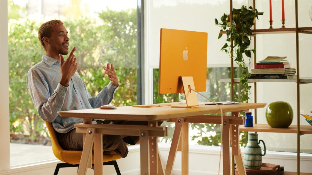 "The new 24"" iMac"